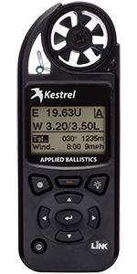 Kestrel 5700 elite with applied ballistics