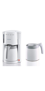 SEVERIN KA 9233 Cafetera para filtros de Café Molido, 8 tazas ...