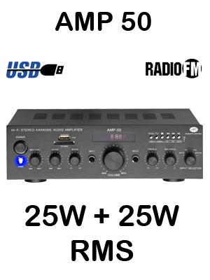 ACOUSTIC CONTROL AMP 50 Amplificador MP3 FM: Amazon.es: Música