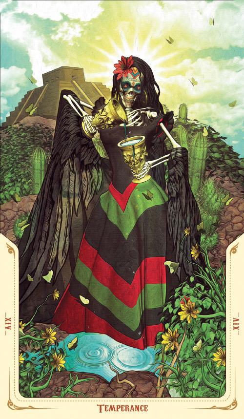 Santa Muerte Tarot Deck: Book of the Dead: Fabio Listrani ...