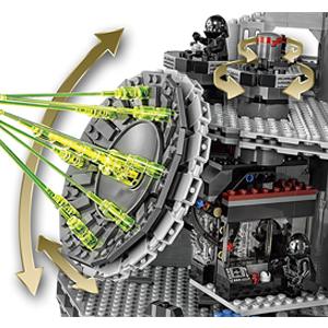 Lego Star Wars Death Star Incluye distintos espacios y armas