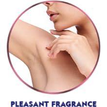 Enjoy a pleasant fragrance that lasts all day