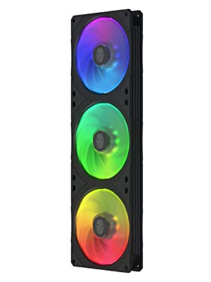 Cooler Master Masterfan Sf360r Argb 360mm Square Frame Fan