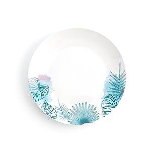 6 platos llanos 27 cm