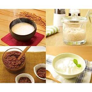 甘酒メーカーで塩糀やしょうゆ糀、ヨーグルトも作れます