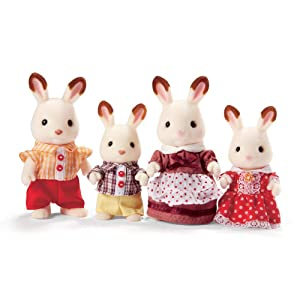 ebd7699bd59 Amazon.com  Calico Critters Hopscotch Rabbit Family  Toys   Games