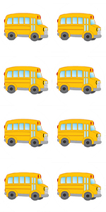 School Bus Stickers