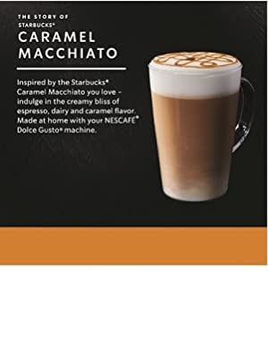 STARBUCKS BY NESCAFE DOLCE GUSTO COFFEE PODS CAPSULES