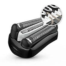 Braun Series 3 ProSkin 3030 S Afeitadora Eléctrica Hombre, para la Barba, con Recortadora de Precisión Extraíble, Recargable, Resistente al Agua, Negro/Rojo: Amazon.es: Salud y cuidado personal