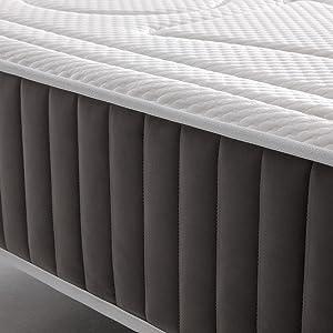 Imperial Confort ViscoBayscent - Colchón Visco Grafeno de espuma con tratamiento BAYSCENT® Neutralizer - Transpirable y doble cara (invierno/verano) - ...