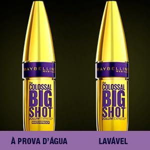 colossal, máscara, máscara maybelline, colossal big shot, máscara colossal big shot, big shot