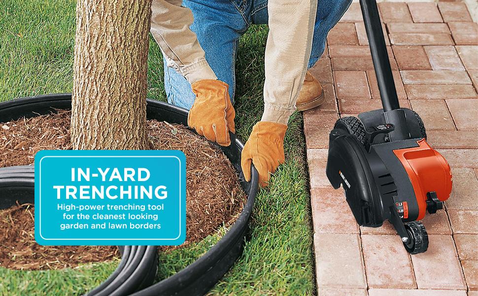 In-Yard Trenching