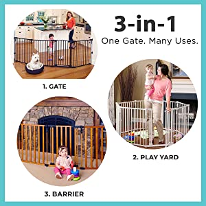 1 gate - 3 uses