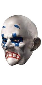 The Joker Henchman Chuckles Costume mask