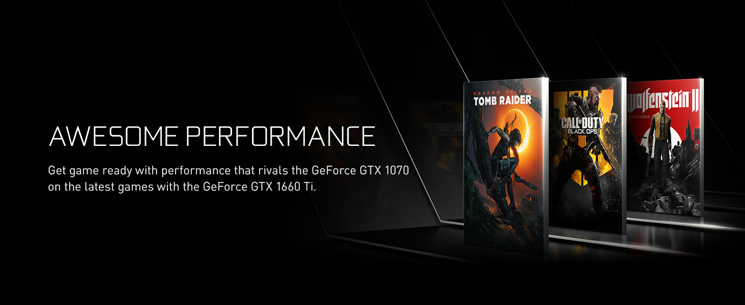 performance, call of duty, black ops, wolfenstein, tomb raider