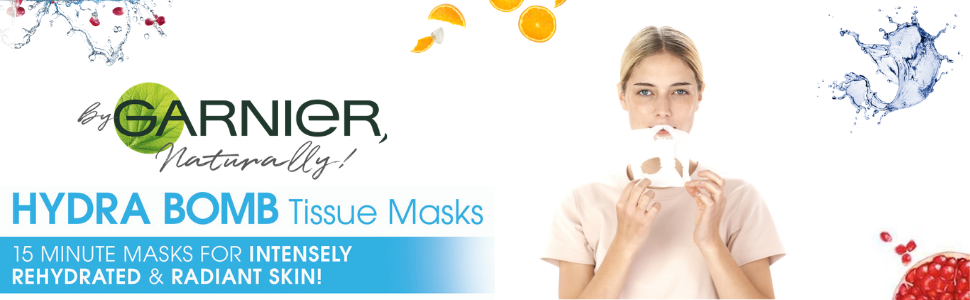 Hydra Bomb Tissue Mask Garnier