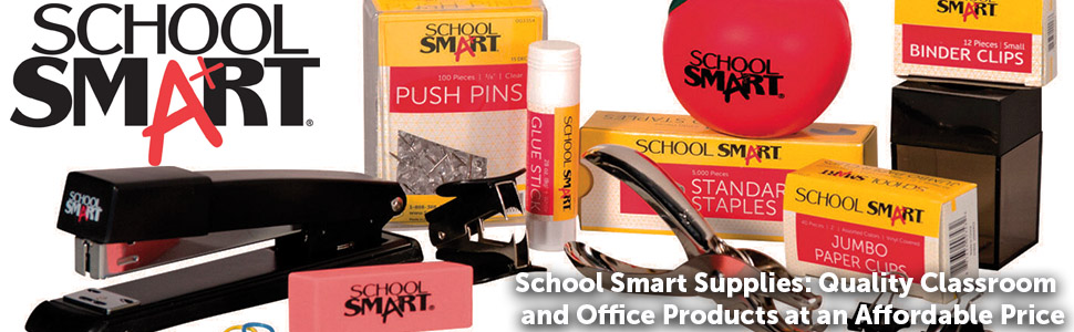 Size 1 Red School Smart Pre-Inked Stamp Pad