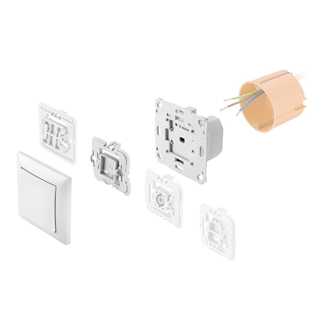 Bosch Smart Home Unterputz Lichtschalter Variante Deutschland Und