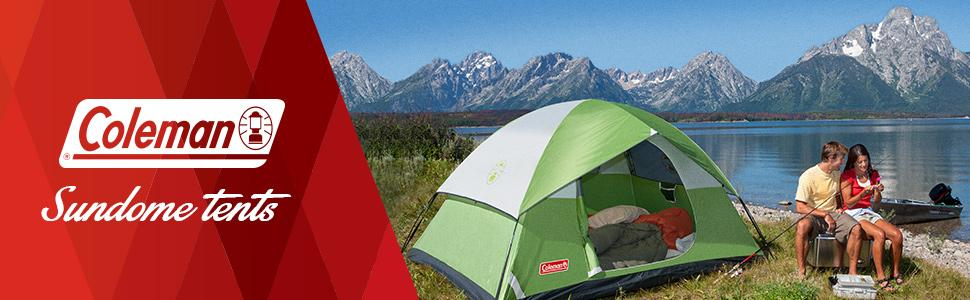 From the manufacturer : coleman 7x7 tent - memphite.com