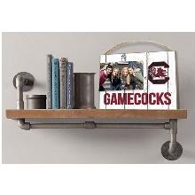 South Carolina Gamecocks Clip It Weathered Logo Collage Photo Frame