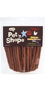 chicken sweet potato, dog treats, doggo treats, pet treats