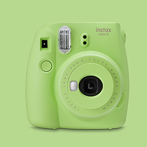 Shoot instant photos with instant cameras