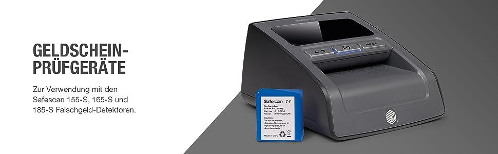Safescan Aufladbarer Akku LB-105 für Geldschein-Prüfgerät 135i 155i 165i 155-S 1