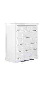 tall chest, drawer, storage, evolur, dream on me, parker