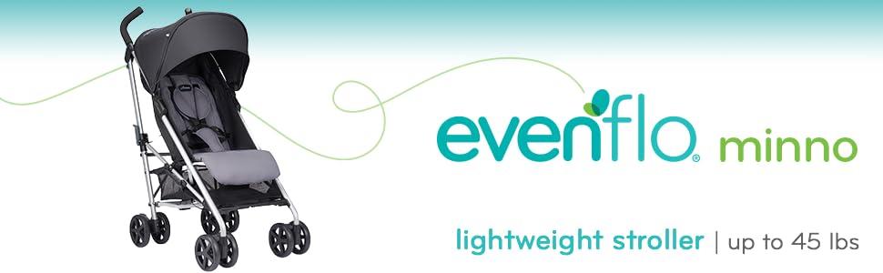 Amazon Com Evenflo Minno Lightweight Stroller Glenbarr