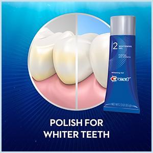 Amazon Com Crest Gum Detoxify Plus Whitening 2 Step Toothpaste
