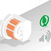 محرك EcoSilence Drive: قوي واعتمادي وهادئ ويعمل بكفاءة.
