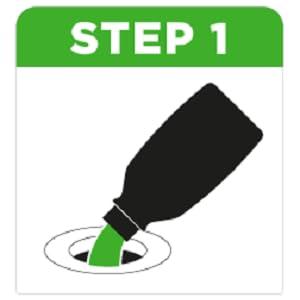 Sanitiser Gel Step 1