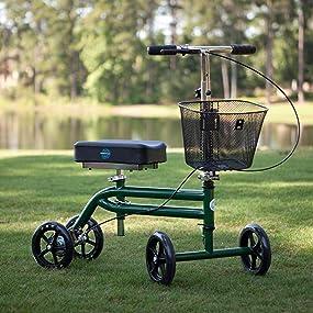 KneeRover Knee Scooter in Green