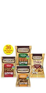 Pretzel Variety Pack, 36ct