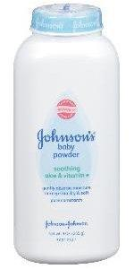 JOHNSON'S baby pure cornstarch powder with soothing aloe vera and vitamin E