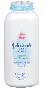 JOHNSON'S baby pure cornstarch powder with soothing aloe vera and vitamin E