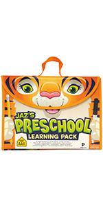 Jaz Preschool Learning Pack, All-in-One Learning Kit, Activity Set, Learning Pack, Learning Program