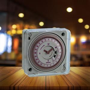 Programmable toutes les 15 min R/éserve de Marche  150 heures Quartz Horloge Programmable Journali/ère Tactic 211.2 Gr/ässlin 02.79.0013.1 Encastrable Marche//Arr/êt - 1 Canal