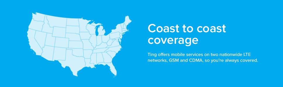 Ting, coast to coast coverage, rates