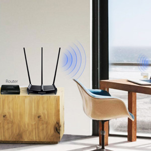 TP-link TL-WR941HP 450Mbps Speed Wi-Fi WiFi Wireless High Power Range Coverage Router Jio Fibre
