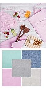 apron,chef apron,dish towels,tea towels,oven mitts,pot holders,kitchen apron,kitchen dish towels