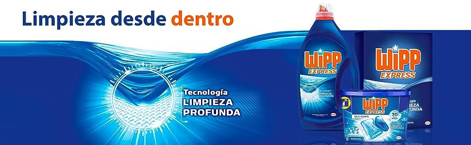 WiPP Express Gel Limpio y Liso, 2064 ml, Pack de 1: Amazon.es ...