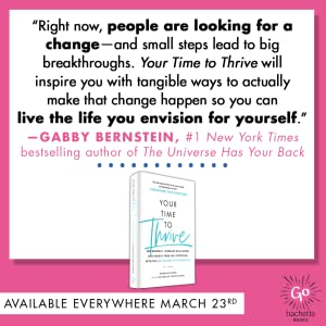 Your Time to Thrive