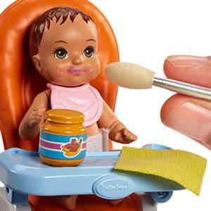 2a583c788af19 ¡Un conjunto de juego de Barbie con una muñeca Skipper