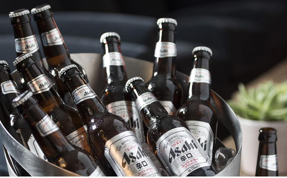 Birra Asahi Super Dry Premium Lager Giapponese
