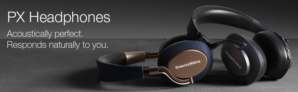 b8f1298784e Bowers & Wilkins PX Wireless Noise-Cancelling Headphones - Space ...