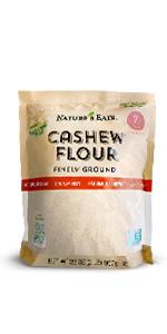 cashew flour, chart