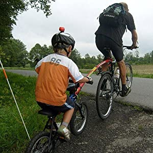 Trailgator, Bicycle, bike, children, child, child bike. tow