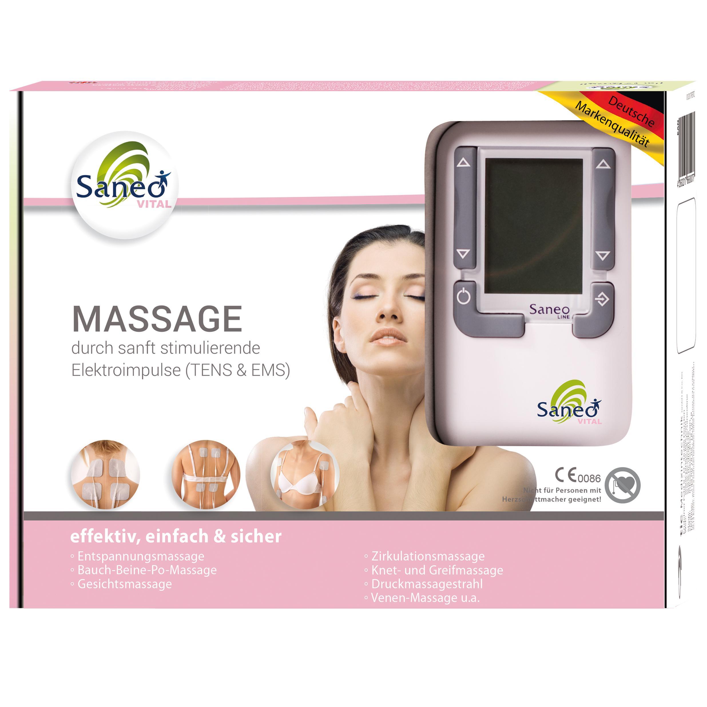 Elektrische EMS Gesichts Abnehmenmassager Anregungs Muskel Massage Schönheit Set