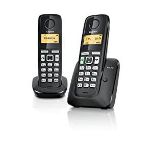 Gigaset A220 Trio - Telefono inalambrico, Pack de 3 Unidades, Manos Libres: Gigaset: Amazon.es: Electrónica